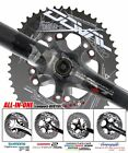 4G doval(11.7~16%) BCD110 chainring for 4~5arm (buy 3+ = Free EMS ship)