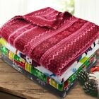 "Soft Fleece Throw Blanket - 50"" X 60"" - Great Gift! - By Cla"