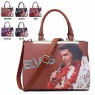 Ladies Elvis Presley Handbag Aloha from Hawaii Shoulder Bag Grab Bag M3297A