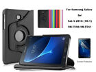 """Screen Protector/360°Rotate PU Leather case for Samsung Galaxy Tab A 10.1"""""""