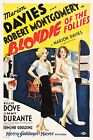 BLONDIE OF THE FOLLIES Movie Poster [Various Sizes]