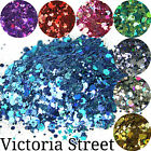 Victoria Street Face, Body and Hair Cosmetic Glitter Cocktails.  Chunky and Fine