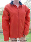 Frequency women's orange wind stopper jacket size 10 or 12     (1747)