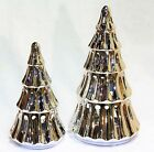 Yankee Candle First Frost Silver Tree Ceramic Tea Light Holders - Lg/Sm u Pick