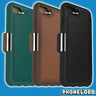 Genuine OtterBox Strada case cover iPhone 7 and 7 Plus wallet flip leather tough