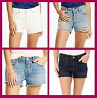 Levi's ~ 501 Button Fly Women's Jean Shorts $50 NWT