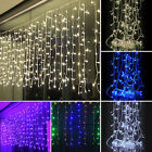 4×0.8M Christmas LED Net Lights String Lamp Outdoor Fairy Party Decor Curtain