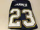 MEN'S QUENTIN JAMMER #23 SAN DIEGO CHARGERS RETRO NAVY REEBOK JERSEY NWT $64.99 USD