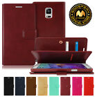 GOOSPERY® Mansoor PU Leather Wallet Case Card Slots for Samsung Galaxy Note 4
