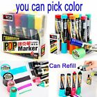 Lot 3 6 12 Pc 6 mm Poster Marker Paint Extra Bold Black Blue Red Green 12 Color