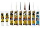 HB42 All-In-One Polymer Silicone Sealant Mastic Grab Bond Adhesive -ALL COLOURS