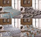 Bedspread Quilts Patchwork Bedding 3PC Set Pillow Cases Shams Single Double King