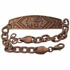 Solid Copper Bracelet Kokopelli  Handmade Southwest Arthritis Jewelry Adjustable