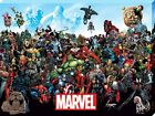Marvel Comics Marvel Universe Large Canvas Print 60x80cm