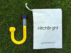 HitchBright - LED Solar Powered Night Light for Caravan Hitch/ Ball - Yellow