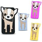 * BACK CASE 3D Animal Cover Schutzhülle Tasche Huawei Y6 2 Compact CHIHUAHUA