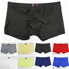 HOT Smooth Sexy Underwear Men's Boxer Briefs Shorts Bulge Pouch Sport Underpants