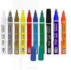 PERMANENT CAR TYRE TIRE METAL PAINT PEN OIL BASED MARKER WATERPROOF 10 COLOURS G