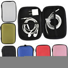 Portable Headsets Charger Cable U Disk Carrtying Case Home Travel Storage Bag