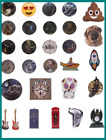 Collection of Novelty Picture Wall Clocks Kitchen Living Room Bedroom