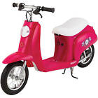 Girl's Pocket Mod Electric Scooter Ride On Kids Children Toys 250W Padded Seat