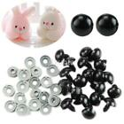 100pcs 6-18MM Plastic Safety Craft Replacement Eyes For Teddy Bear Doll Toy US