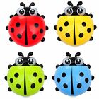 "5.5"" LADYBUG Toothbrush / Whatever Caddy for Bath or Mirror Suction Cups include"