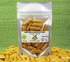 Turmeric Powder 750 mg Capsules Organic Curcuma Longa Stomach Digestion Health