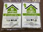 MICROALLERGEN PLUS KIRBY VACUUM CLEANER AVALIR HEPA PINK PACK WHITE FILTER BAGS