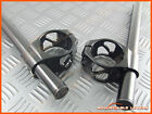 50mm Clip Ons Handle Bars Suzuki Hayabusa Fork CNC Hollow Cut Out Clip On