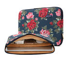 "Peony Notebook Computer Cover Bag 11"" 13"" 14"" 15""Canvas Laptop Sleeve Pouch Case"