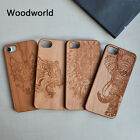 Mobile Phone Natural wooden Wood Carved Case for iPhone7/7plus/6/6s/6plus/6sp