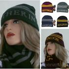 2017 Winter Warm Harry Potter Hufflepuff Gryffindor Ravenclaw Sorting Hat Cap LJ