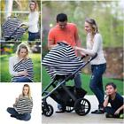 2 in 1 Stretchy Multi-Use Baby Car Seat Cover Nursing Cover High Chair Cover LJ