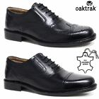 Kyпить Mens Leather Brogues Smart Formal Office Casual Lace Up Oxford Brogue Shoes Size на еВаy.соm