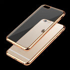 Transparent Case For Apple iPhone  6 7 8 Plus X S Crystal Clear TPU Soft Cover