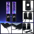 LED Dancing Water Music Fountain Light Speaker For iPhone Samsung Mp3 Laptop UB