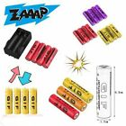 4pcs 18650 9800mAh Rechargeable Li-ion Battery & Charger For Flashlight LOT
