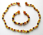 Genuine Baltic amber necklace or bracelet anklet for child, multi baroque beadsOther Natural Remedies - 1279