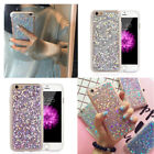 Full Fashion Silicone Bling Glitter Soft Phone Case Cover For iPhone 6s 7 7Plus