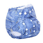 Sweet New Alva Reusable Baby Washable Cloth Diaper Nappy Free Size Adjustable