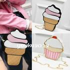 Chic Summer Women Mini Shoulderbag Special Ice Cream Cup Cake Crossbody Bag LJ