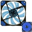 30 LED Light Neon Quite 120mm DC 12V 4Pin PC Computer Case Cooling Cool Fan New