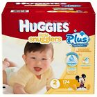 HUGGIES Nappies Little Snugglers Movers Plus Size 1 2 3 4 5 6 New