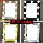 Led Bulb Vanity Lighted Hollywood Makeup Mirror with Dimmer Stage Beauty Mirror