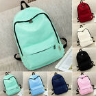 Womens Girl Backpack Canvas Travel Boys Handbag Rucksack Shoulder School Bag New