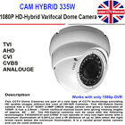CCTV HDTVI 1080P Sony CMOS Dome Camera 30M IR In/outdoor Verifocal 2.8-12mm Lens