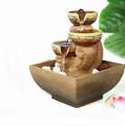 Home Office Desktop Water Fountains Humidification Artificial Stones Decorations