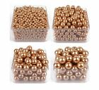 6-14mm gold imitation plastic pearl beads for jewelry accessories DIY making