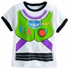Disney Store Toy Story Buzz Lightyear Costume T Shirt Tee Boys Size 10/12 NWT